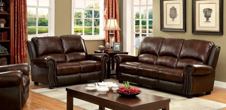 Turton Brown Living Room Set