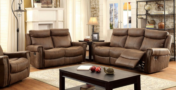 Geddes Brown Living Room Set
