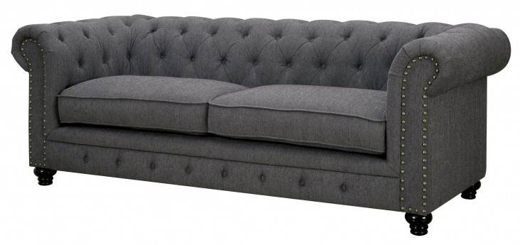 Stanford Gray Fabric Sofa