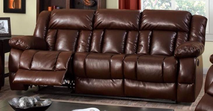 Wimbledon Brown Power Reclining Sofa