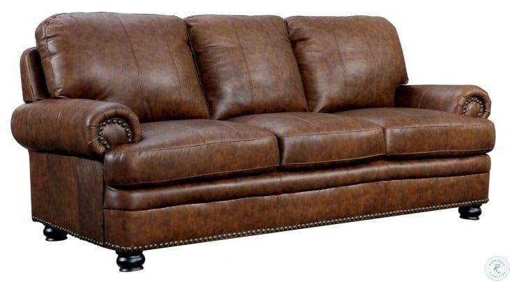 Rheinhardt Dark Brown Sofa