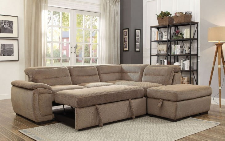Sectional Sofa with Storage