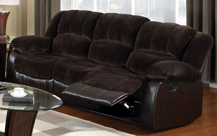 Winchester Brown Champion Reclining Sofa