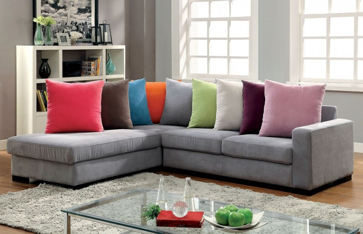 Renata Gray Sectional