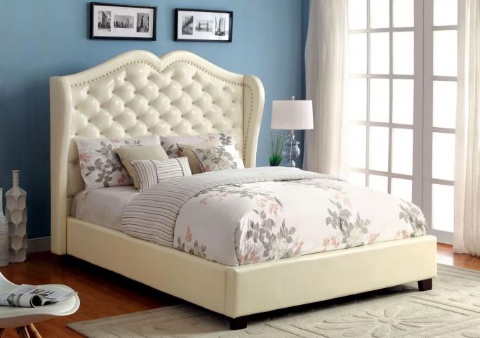 Monroe Ivory Cal. King Bed