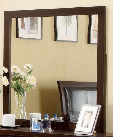 Enrico I Brown Cherry Mirror