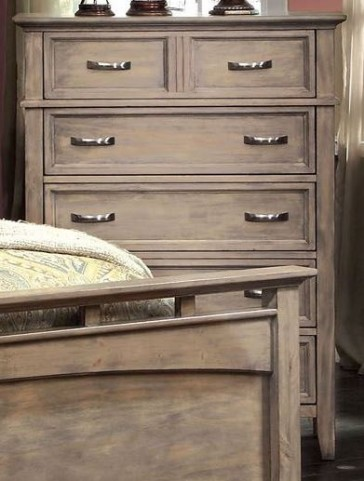 Loxley Camel Finish Chest