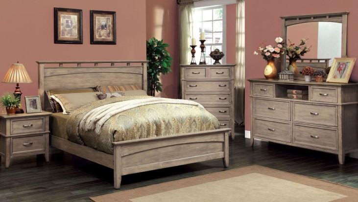 Loxley Camel Finish Bedroom Set