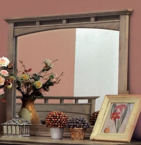 Loxley Camel Finish Mirror