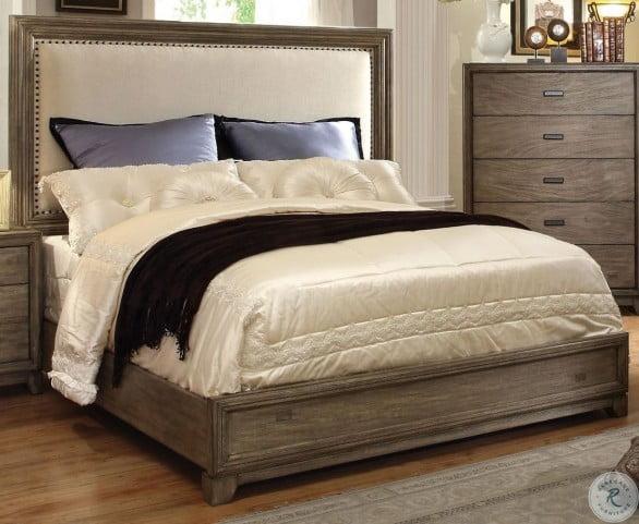 Antler Natural Ash Cal. King Panel Bed