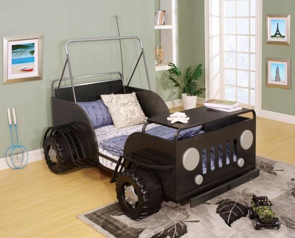 Trekker II Twin Gunmetal Bed