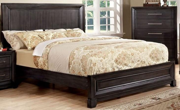 Bradley Dark Gray King Bed