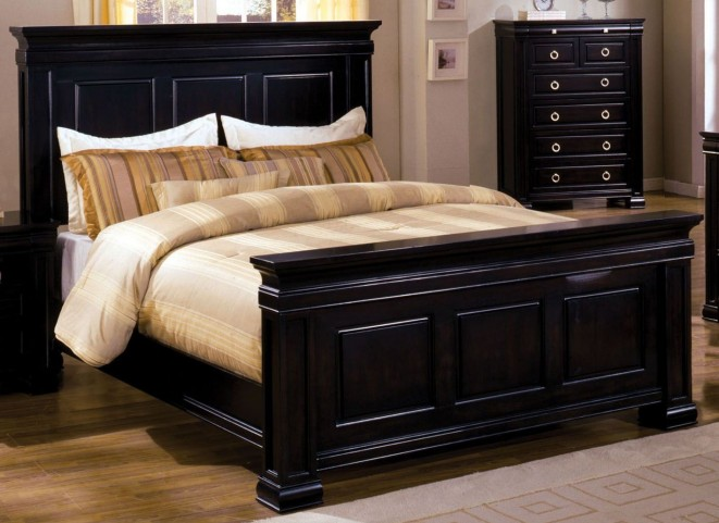 Cambridge Deep Espresso Cal. King Panel Bed