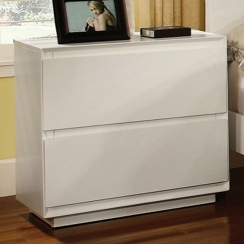 Leeroy White Nightstand