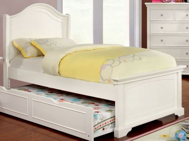 Mullan White Full Platform Bed