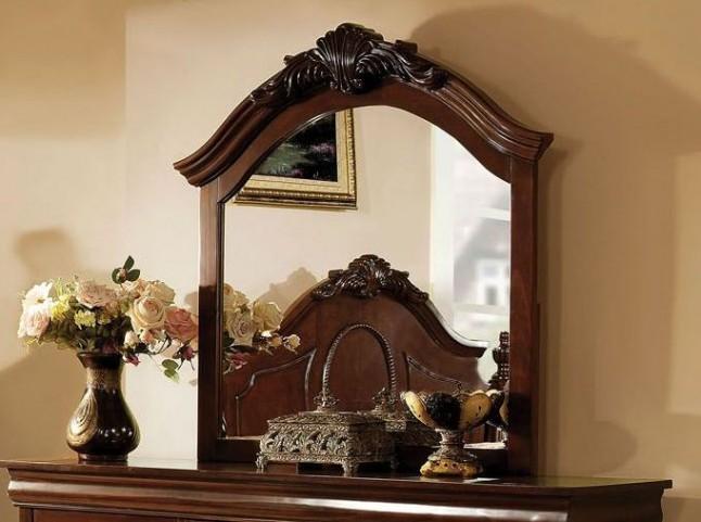 Velda II Brown Cherry Mirror