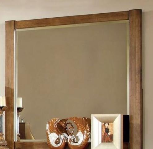Conrad Rustic Oak Mirror