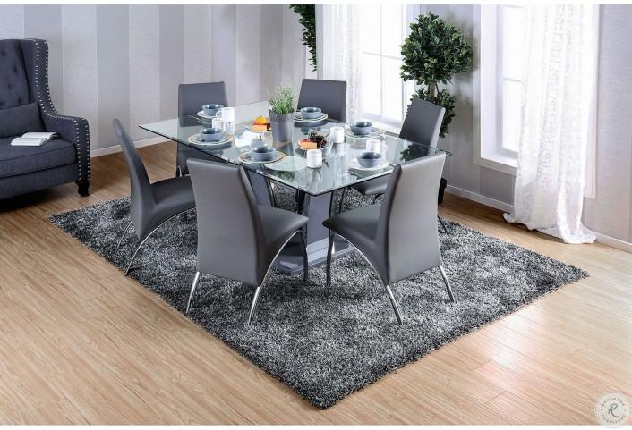 Glenview I Gray Rectangular Dining Table