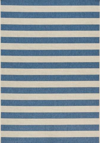 Coast Navy/Cream Stripes Flatweave Medium Rug