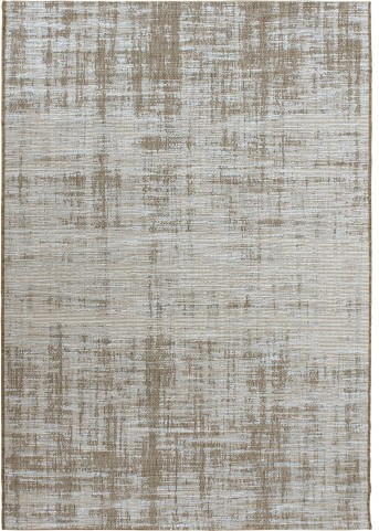 Orian Rugs Indoor/Outdoor Solid Distressed Perfection light blue/brown Area Small Rug