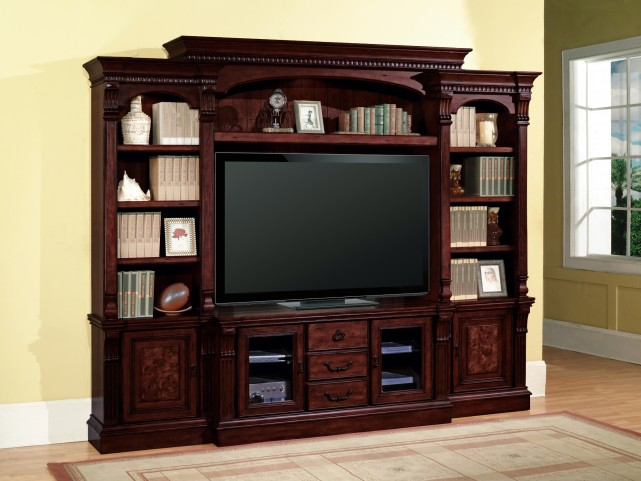 "Corsica 60"" Small Entertainment Wall Unit"