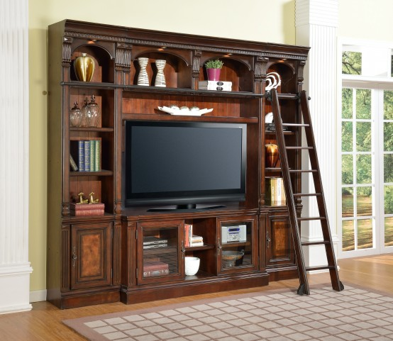 "Corsica 60"" Spacesaver Entertainment Wall Unit"