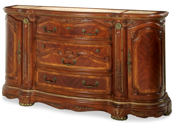 Cortina Honey Walnut Dresser