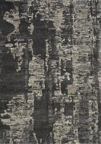 Coventry Charcoal and Beige Tree Bark Medium Rug