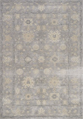Coventry Grey and Beige Smokey Large Rug