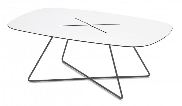 Cross Anthracite Rectangular Coffee Table