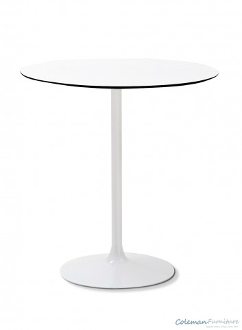 Crown White Round Table