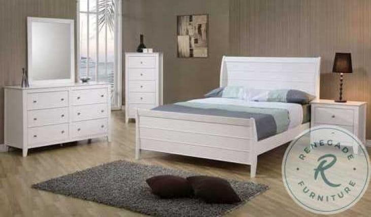 Selena Youth Sleigh Bedroom Set - 400231