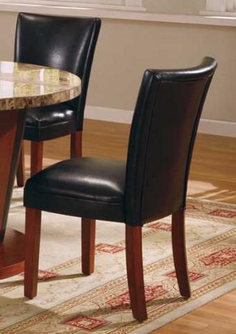 Soho Black Parson Chair Set of 2