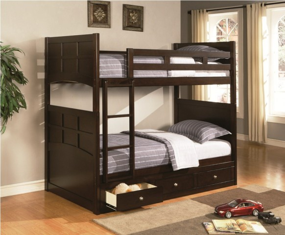 Jasper Youth Twin Over Twin Bunk Bed - 460136