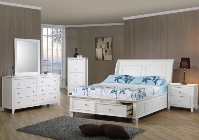 Selena Youth Sleigh Storage Bedroom Set