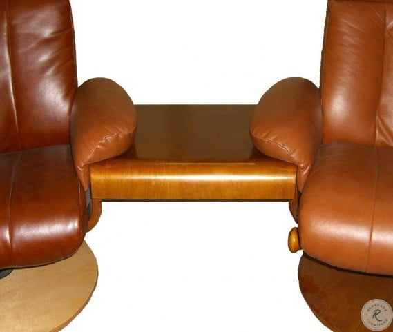 Cool Oslo Espresso Brown Top Grain Leather Swivel Recliner With Ottoman Pdpeps Interior Chair Design Pdpepsorg
