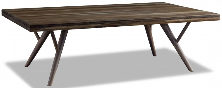 Crawford Sepia Modern Coffee Table