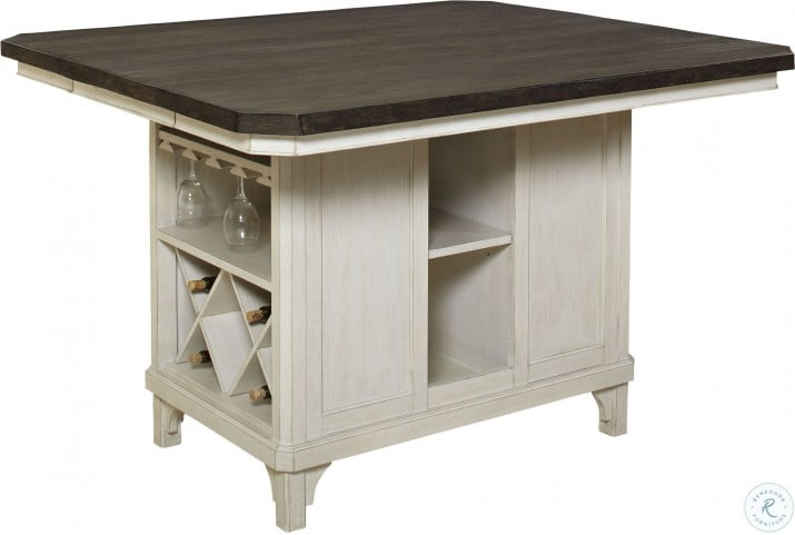 Mystic Cay Weathered Kitchen Island