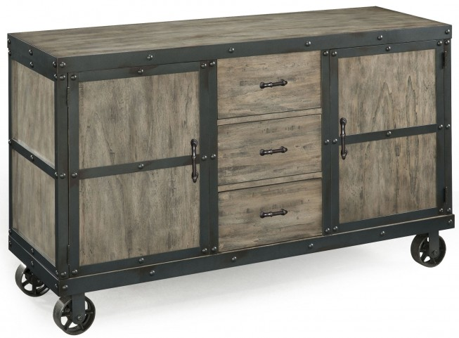 Walton Server With Casters