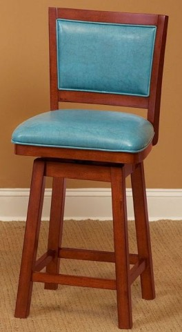 "Carnival Blue 24"" Counter Stool"