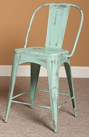 "Timbuktu Turquoise 24"" Counter Stool"