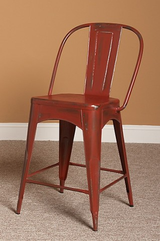 "Timbuktu 24"" Red Counter Stool"