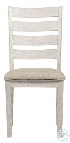 Skempton White And Light Brown Dining Chair Set Of 2