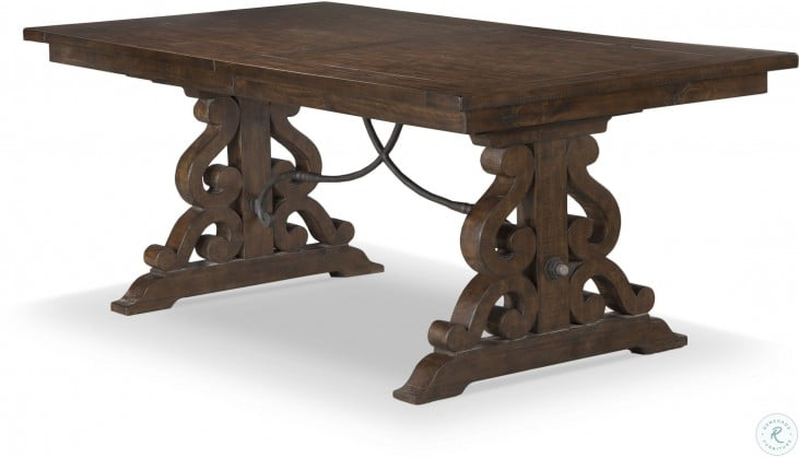 Swell St Claire Rustic Pine Extendable Rectangular Dining Table Download Free Architecture Designs Jebrpmadebymaigaardcom