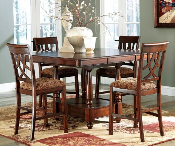 Leahlyn Extendable Counter Dining Room Set