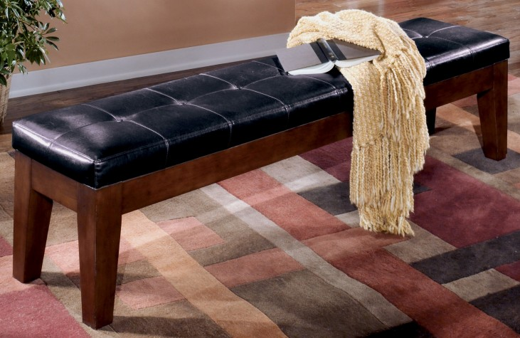 """Larchmont 76"""" Upholstered Bench"""