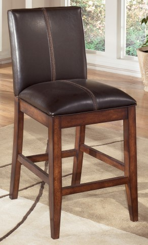 "Larchmont 24"" Upholstered Counter Stool Set of 2"
