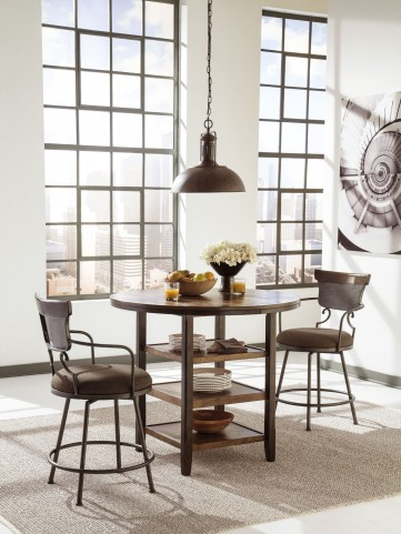 Moriann Round Counter Dining Room Set