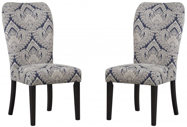 Sharlowe Indigo Dining Upholstered Side Chair Set of 2