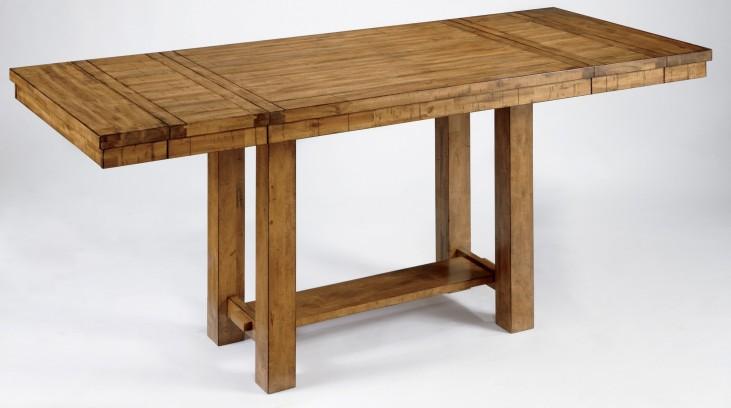 Krinden Rectangular Counter Height Extendable Table